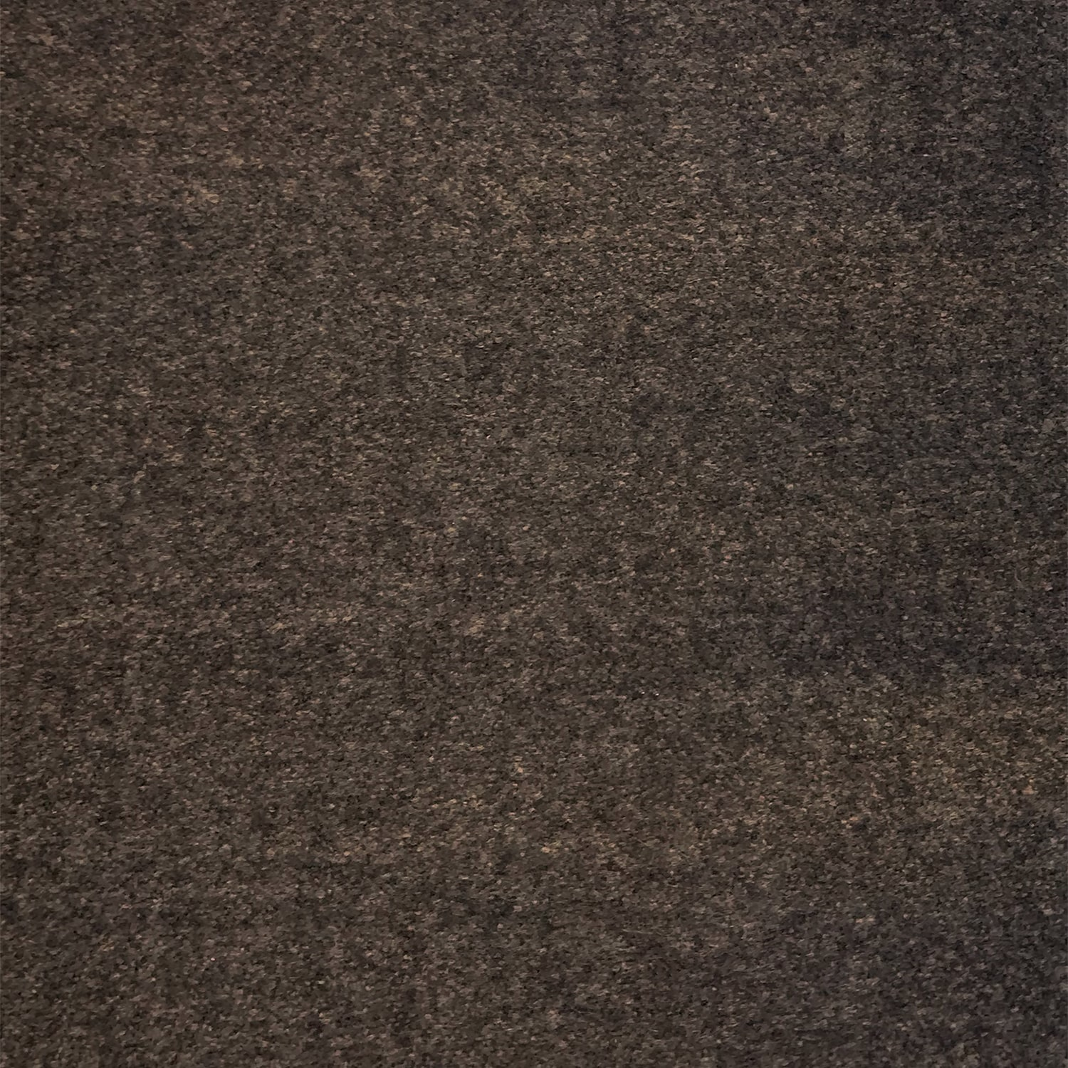 Clover Espresso (grade #1): CO-1-18<br>Cleans with water; flat heathered flannel texture