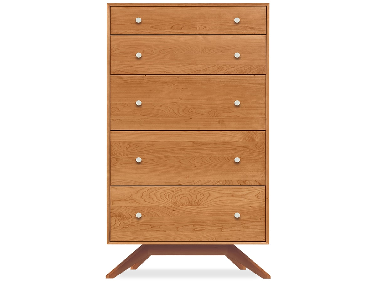 Astrid Bedroom 5-Drawer Dresser by Copeland Furniture