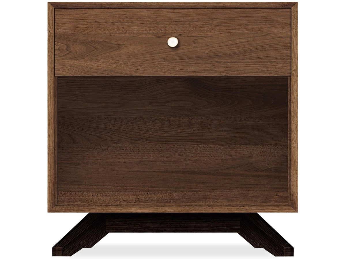 Astrid Nightstand in Solid Walnut by Copeland of Vermont