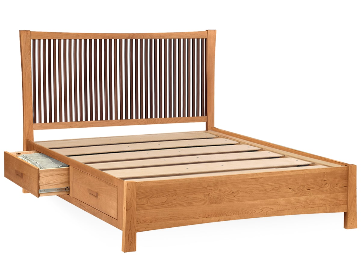 Berkeley Modern Platform Bed Slat Support System by Copeland Furniture