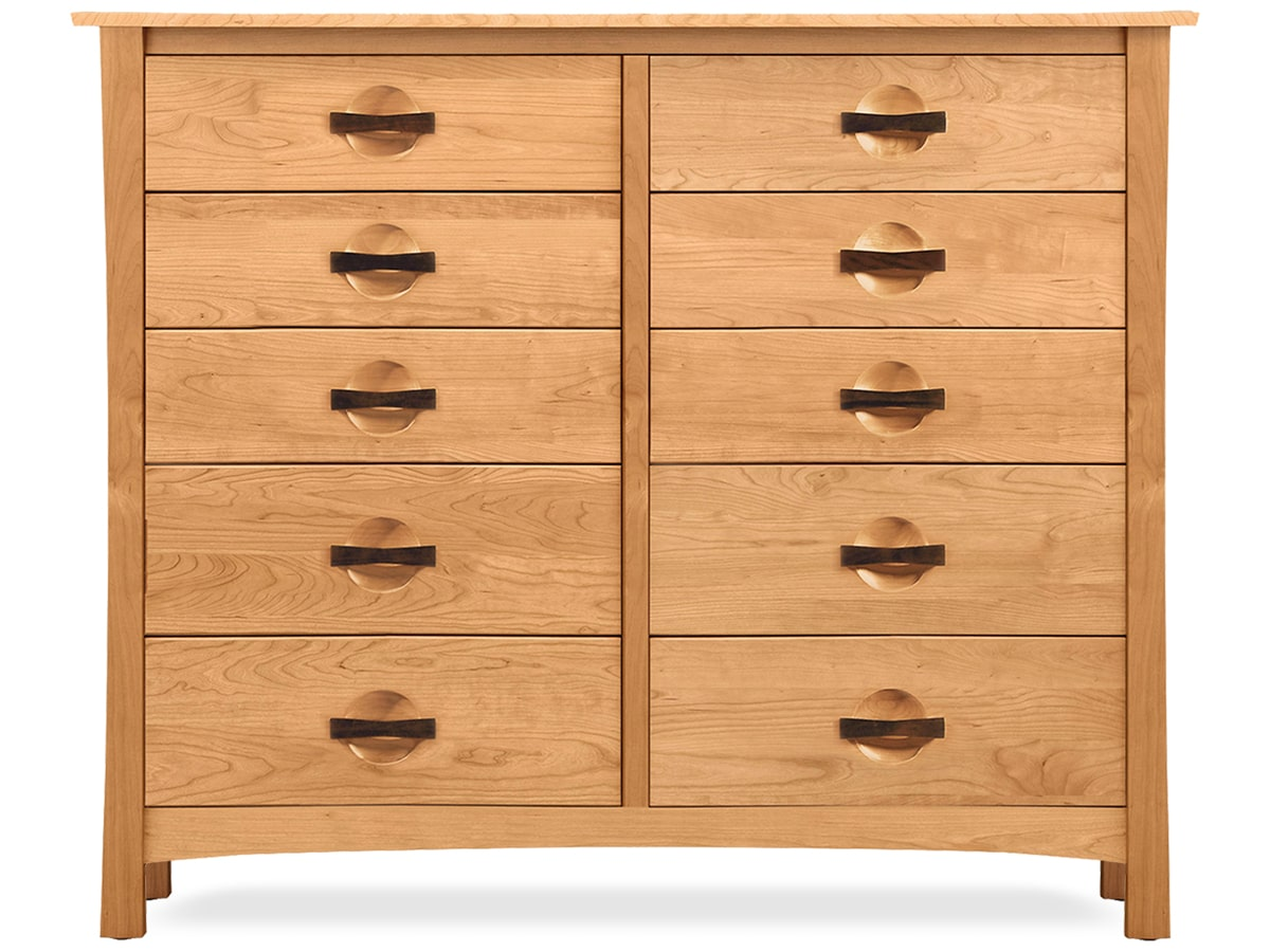 Berkeley Solid Cherry 10 Drawer Dresser