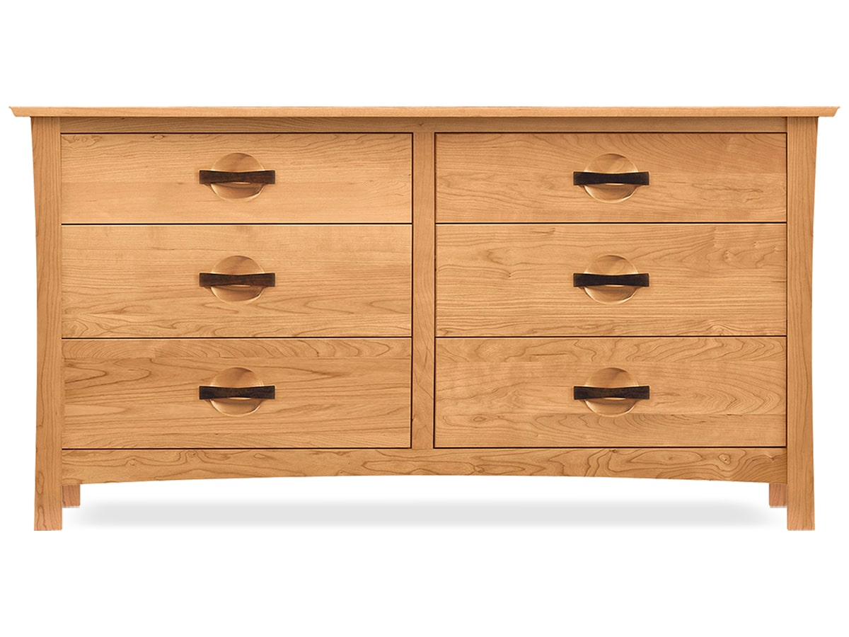 Berkeley Solid Cherry 6 Drawer Dresser