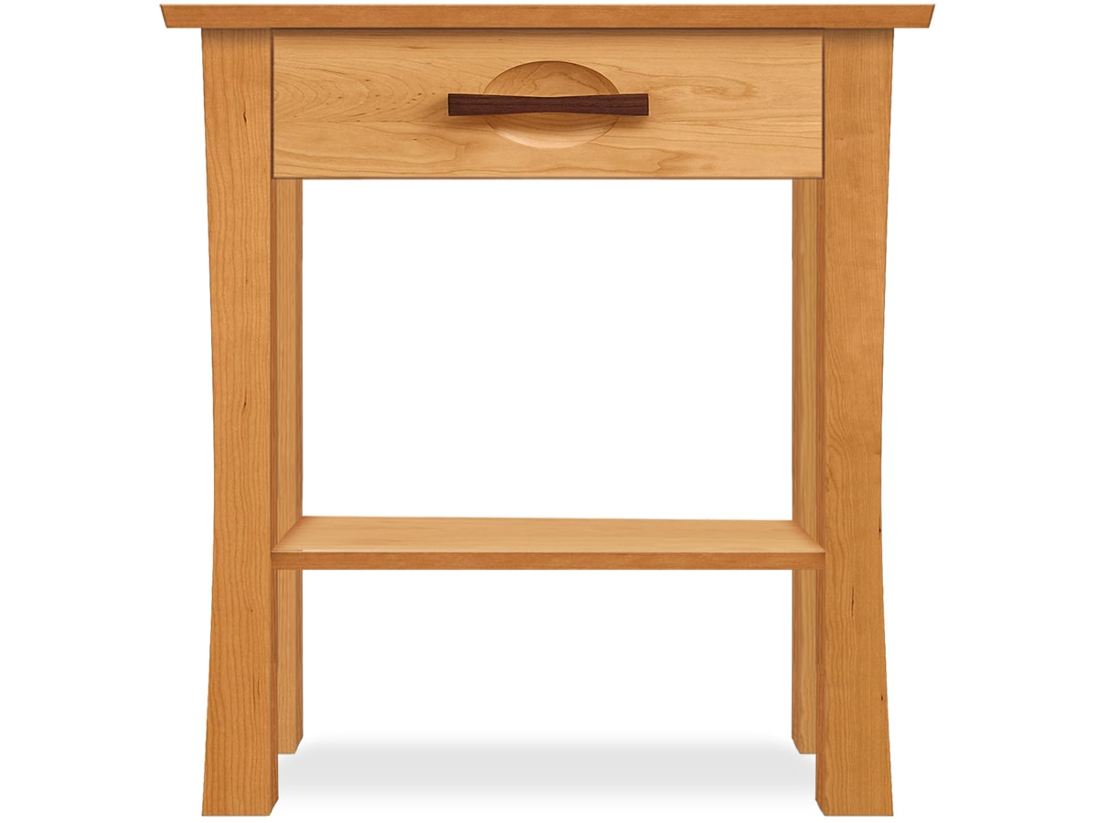 Berkeley1-Drawer Nightstand in Cherry made in Vermont