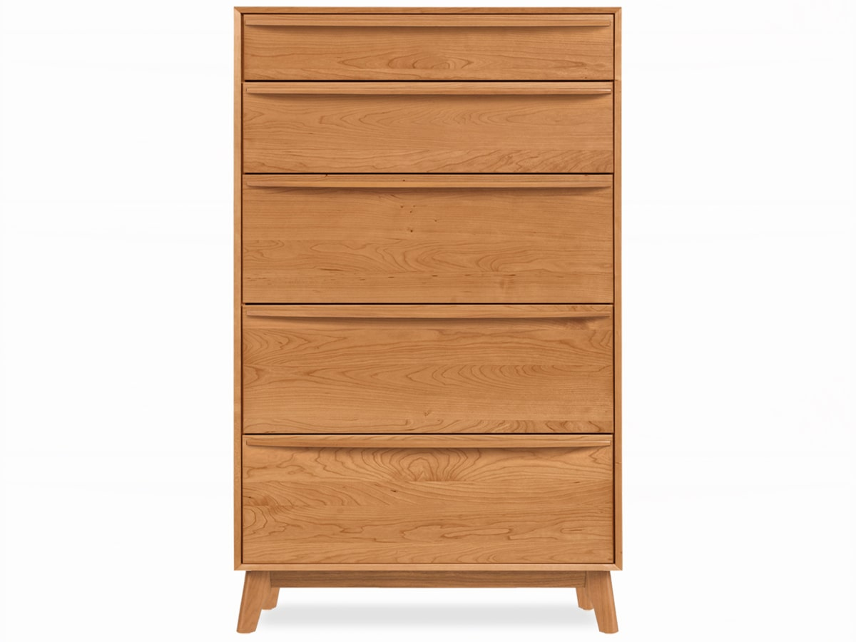 Catalina modern bedroom 5 drawer chest of drawers