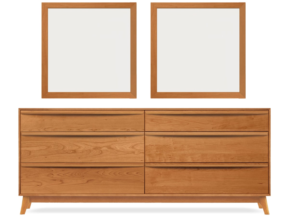 Catalina Bedroom 6 Drawer Dresser By Copeland Furniture
