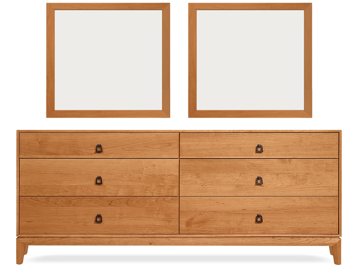 Amazing Mansfield Bedroom 6 Drawer Dresser By Copeland Furniture