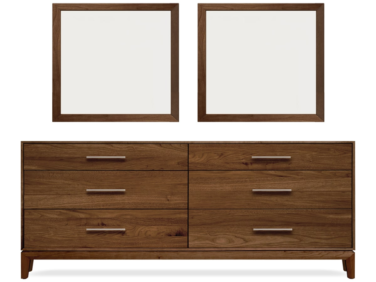 Bedroom & More | Modern Bedroom Furniture | Mansfield 6-Drawer ...