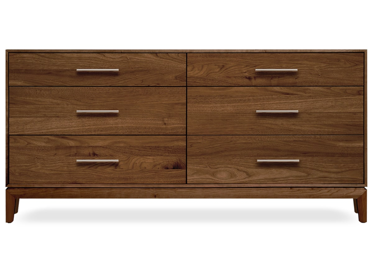Mansfield modern bedroom 6 drawer dresser