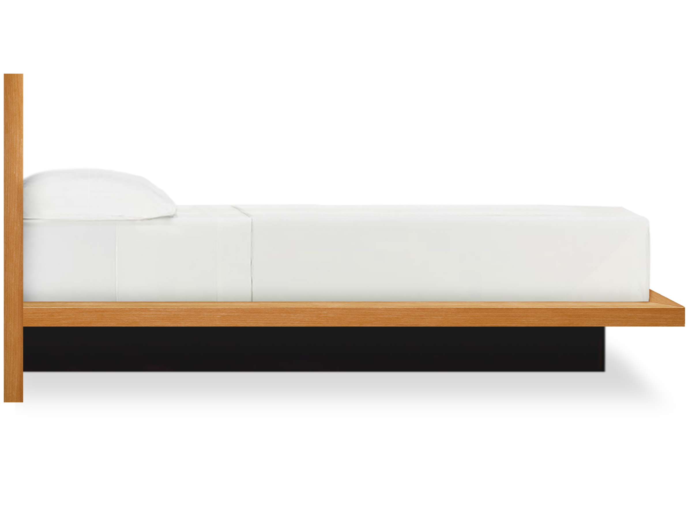 Moduluxe Modern Platform Bed Side View