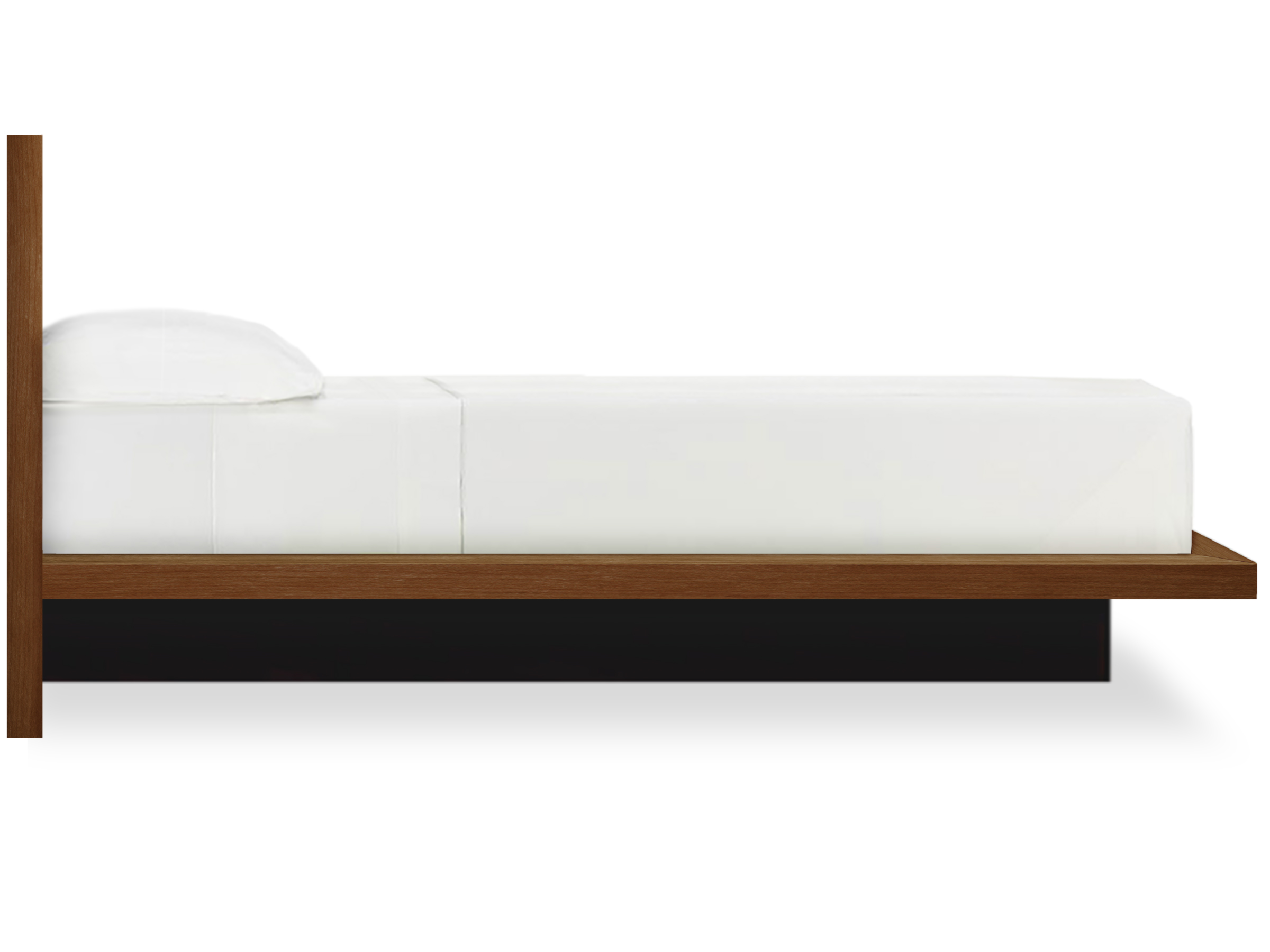 Bedroom More Modern Platform Bed Moduluxe walnut by Copeland