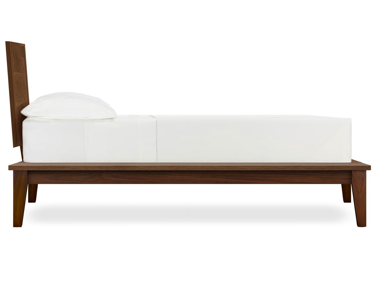 Soho Modern Platform Bed Side View