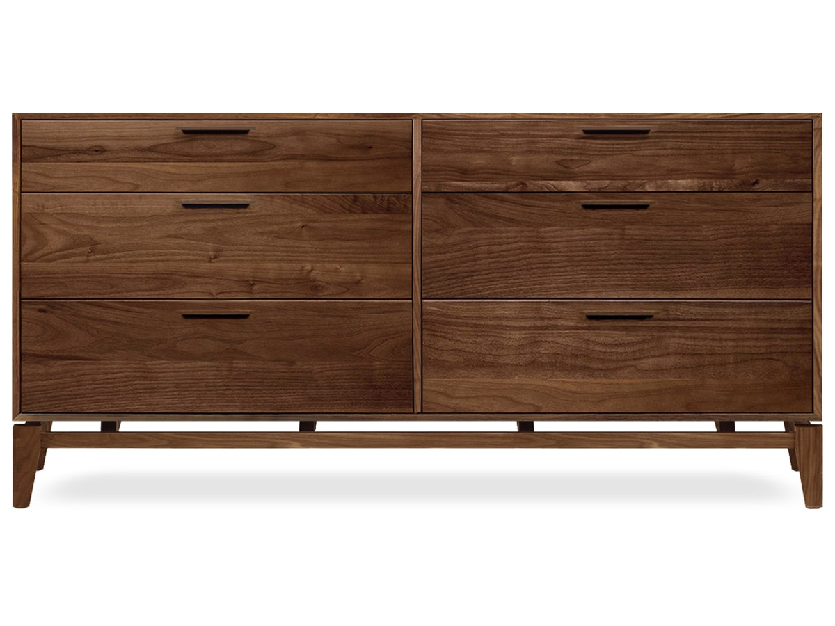 Soho modern bedroom 6 drawer dresser