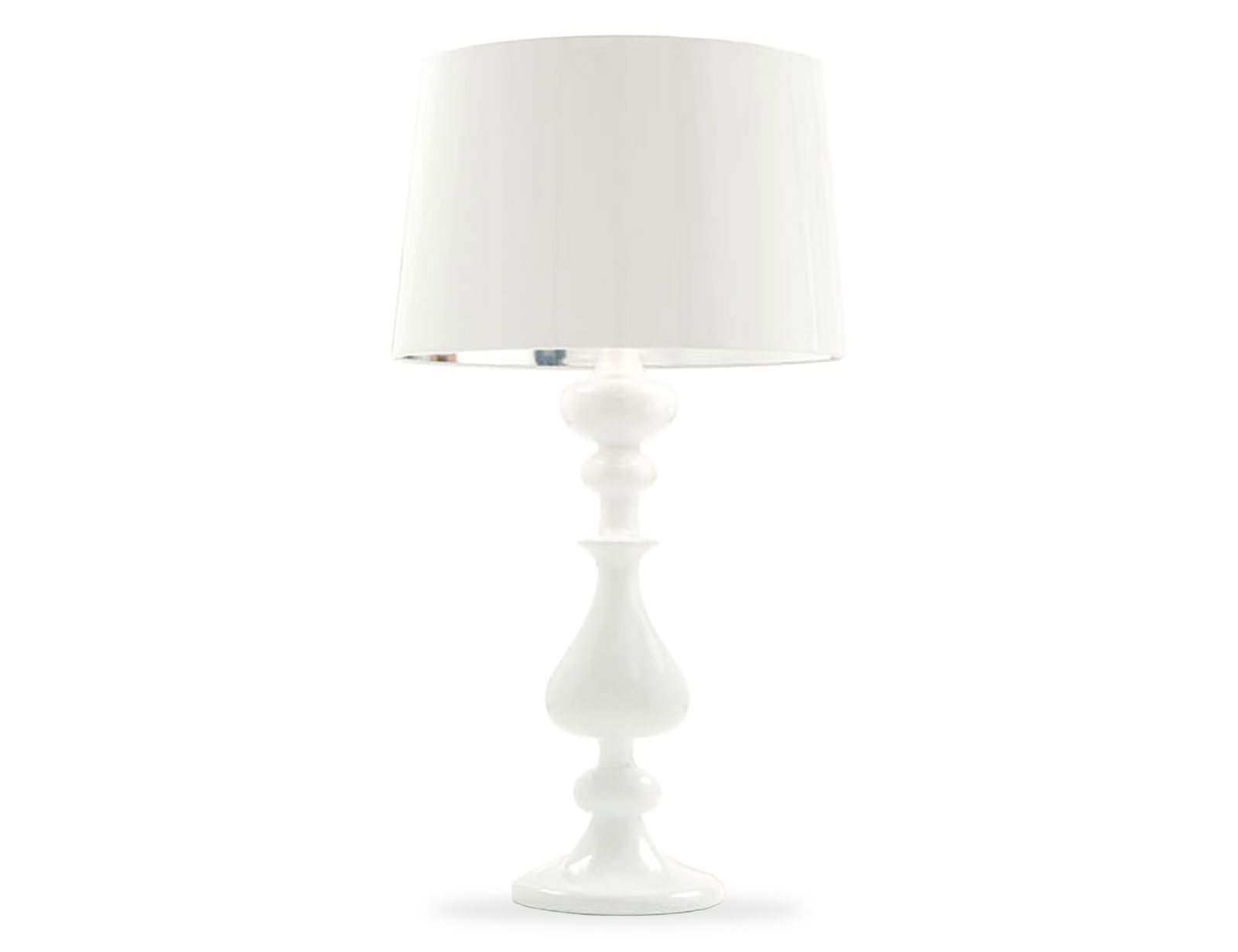 Clearance Sale Lola White Table Lamp