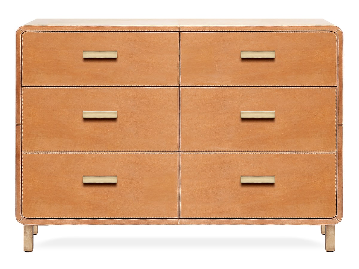 Dante Leather Dresser by Made Goods